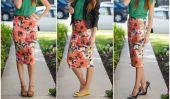 Comment porter une jupe sans regarder Midi Stumpy (5 conseils faciles!)