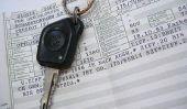 Perdu le document d'immatriculation du véhicule - si vous postulez pour un nouveau