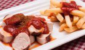 Calories provenant des currywurst et des frites - et plus En savoir plus