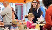 Mesdames heureux!  Jennifer Garner et ses filles Aller au marché de l'agriculteur (Photos)