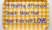 14 Healthy Snacks Afterschool vos enfants vont adorer