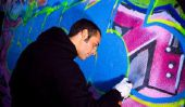 Graffiti apprentissage de dessin - instruction