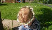 Fleurs pour les cheveux - donc vous tressent des guirlandes de roses miniatures
