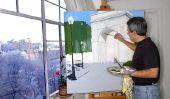 Photos peinture elle-même - étape par étape