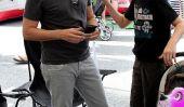 Sunny Day au Farmers Market pour Jon Cryer et ses enfants (Photos)