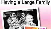 20 choses que nous avons appris au sujet de avoir une grande famille