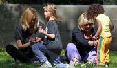 Heidi Klum Repéré dans un parc de Santa Monica avec ses enfants (Photos)