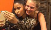 Nicki Minaj et Cara Delevingne Devenir BFFS à Paris: Rapper 'Anaconda' est censément «Bourgeoise, de la Modèle Musique Mentor [Image]