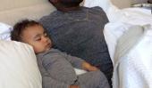 Kim et Kanye bébé North West Photos & Nouvelles: Les parents face aux critiques Après oreilles de Piercing enfants