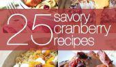 25 gâteaux et salées Recettes Cranberry
