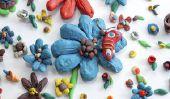 Dry Play-Doh pâte à modeler dans le four - donc réussit de
