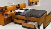 Ingénieuses solutions de stockage: Bed Collection de Hulsta