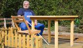 Construire des meubles en bois lui-même - de sorte gère une table