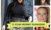 Kim Kardashian a de la compagnie!  14 Autres Celebrity Mom blogueurs!