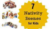 7 Scènes Kid-Friendly Nativité