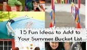 15 idées amusantes à ajouter à votre liste Summer Bucket