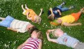 Vieux jeux extérieure pour les enfants - jeux nostalgiques pour l'anniversaire des enfants