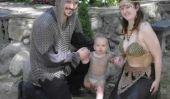 Famille Halloween échoue et Funnies: 15 plus fous parent / Costumes bébé