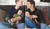 Joyeux Anniversaire 1er aux Twins de Neil Patrick Harris: Harper et Gideon Turn 1!  (Photos)