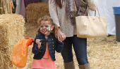 Awww!  Kyle Richards visites par Pumpkin Patch avec la fille Portia (Photos)