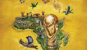 De Espña € ™ 2010 L'équipe de la Coupe du Monde de la FIFA Affiches