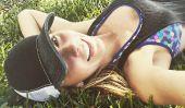 William Levy & Elizabeth Gutierrez Relation Nouvelles: «Brujas de l'Actrice actions des photos de ses« Beautiful Boy », se détend sur l'herbe
