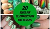 20 Jour ongles Conceptions de Super Fun Saint-Patrick