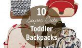 10 Sacs à dos pour tout-petits de Super mignon pour Retour à l'école
