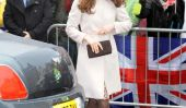 Elle est enceinte!  Kate Middleton bosse de bébé toutes les photos!
