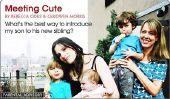 Quelle est la meilleure façon de présenter notre nouveau bébé à notre premier enfant?  Parental Advisory de Babble.