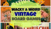 Conseil Étrange et burlesque Vintage Jeux: Permet de jouer la pièce (Photos)