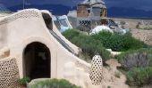 maisons autosuffisantes construits à partir de déchets - informatif sur Earthship
