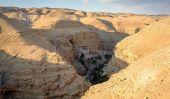 Le monastère de Wadi Qelt