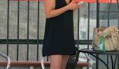 Ali Larter pimente Boring courses avec une découpe, robe noire courte (Photos)
