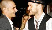 Justin Timberlake et Kevin Federline sont maintenant amis qui jouent au golf ensemble.  Soyez toujours nos cœurs '00s.