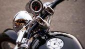 Utilisez marque de jour pour la moto correctement