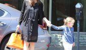 Jennifer Garner traite ses filles à un petit Baskin Robbins (Photos)