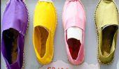 Plug - Instructions pour les chaussures en tissu