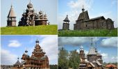 10 Eglises en bois spectaculaires de la Russie