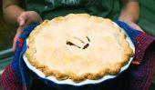 Desserts Thanksgiving: tarte aux pommes avec Cranberries
