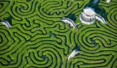 Longleat Hedge Maze: Le plus long du monde