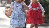 Le printemps est enfin là!  Filles jumelles de Sarah Jessica Parker profiter d'une journée Belles (Photos)