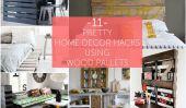 11 jolies Home Decor Hacks Palettes Utilisation de bois