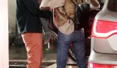Just Like Us!  Jessica Alba et Cash Warren Parties Do With Honor samedi Anniversaire!  (Photos)