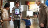 """""""Modern Family"""" Saison 6 Episode 24 spoilers: un voyage d'affaires Forces Phil assistera Graduation Party Via Skype de Alex"""