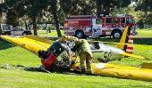 Harrison Ford Plane Crash Mise à jour: carburateur défectueux Led d'une panne moteur, disent les enquêteurs fédéraux
