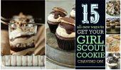 Girl Scout Cookie Madness: 15 nouvelles façons de faire cuire vos cookies préférés