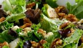 Salade de poires et aux noix Feta