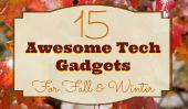 15 gadgets de haute technologie impressionnants pour l'automne et l'hiver