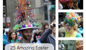 Les Bonnets hilarant et étonnants du Easter Parade de New York